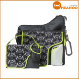 Casual Printing Shoulder Travel Outdoor Mother Nappy Baby Diaper Bags