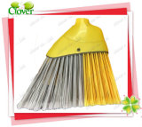 Two Tone Angle Broom Head, Assorted Color Fiber