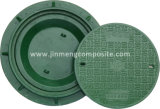 Green Fibreglass Meter Box Covers with Inner Cap for Electricity