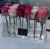 Lucite Rectangle Flower Box for Delivery or Packaging