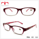 Latest Fashion Plastic Ladies Reading Glasses with Pouch (WRP503142)