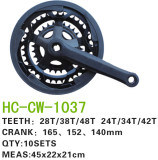 Bike Accessires for Chain Wheel Crank Hc-Cw-1037