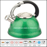 Whistle Kettle Pot Tea Kettle 3L Color Stainless Steel Tea Set Kitchenware Cookware