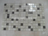 Dark and Light Emperador Marble Multicolor Polished Marble Mosaic Tiles