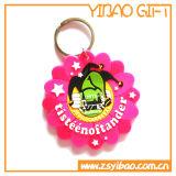 Promotional Custom Logo PVC Keychain for Gifts (YB-PK-09)
