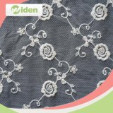 Free Sample Available White Cheap French Net Embroidery Fabric