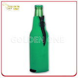 Connection Base Waterproof Neoprene Beer Bottle Holder with Zipper