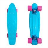 22inch PP Mini Skateboard Cruiser Complete Skateboards Banana Skateboard Plain Tiffany Blue-19