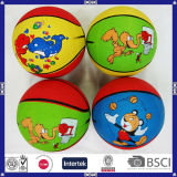 Promotional Children Mini Rubber Basketball