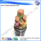 Low Voltage Multicores XLPE Insulation PVC Sheath Electric Power Cable