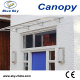 2014 New Material Transparent Plastic Door Canopy Awning Brackets