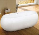 Cocoon Egg Shape Unique Freestanding Painting Bathtub