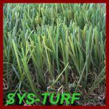 Flat Yarn Artificial Grass for Garden Leisure