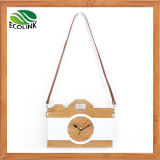 Bamboo Classic Style Hanging Wall Clock