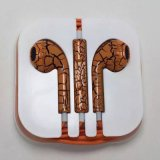 Wholesale Hot Sale Crack Style Earphone for iPhone 5/6