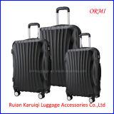 Fashion ABS Black Travel Trolley Luggage Case