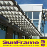 Aluminium Louvers Awning for Commercial Building