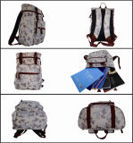 Travelling Camouflages Print Polyester Backpack for Men