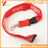 Custom Neck Polyester Lanyard with Mobile Cord (YB-LY-12)