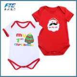 2PCS Fashion Baby Bodysuits Newborn Infant Jumpsuit for Christmas