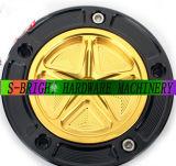 CNC Billet Keyless Light Weight Fuel Gas Tank Cap for Motorcycle Motorbike