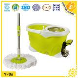 Wholesale Price Yellow Green Microfiber Material Roto Mop
