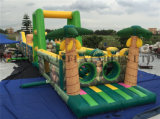 Cheap Price Big Size Jungle Inflatable Obstacle Course