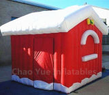 High Quality Inflatable Christmas House for Christmas Decoration