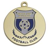 Enamel Customized Antique Gold Silver Copper Sport Metal Medal