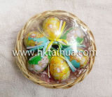 2017 Best Selling Easter Egg with Basket