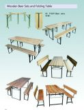 Wholesale Cheap Wooden Beer Table Sets