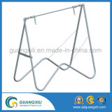 Galvanized Steel Fold up Stand Stand Suitable for Signs 900X600, 1200X900