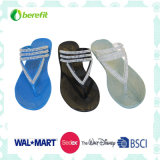 Four Color Lady Slippers, PVC Injection Shoes