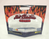Microwave Hot Barbecue Chicken Bag with Window and Ziplock
