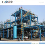 30ton Oil Distillation Line Used Lubrication Oil to Base Oil