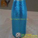 Metallic Bottle Cover/Luxury Upscale Clubs Red Wire Covers
