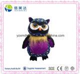 Star Pattern Cute Plush Big Eyes Owl Soft Toy