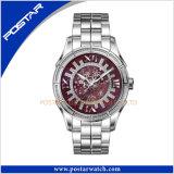 New Design Quartz Watch with Purple Mop Dial Waterproof Watch
