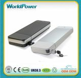 48V 10ah Lithium Battery for Electric Bike Silver Apple Style