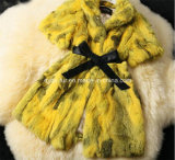 Hot Sale Nature Rabbit Fur Coat Jacket