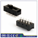Power 6p3t 8pins Slide Switch