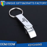 Promotion Metal Souvenir Custom Logo Keychain Shape Bottle Opener