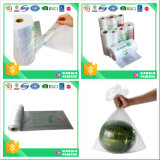Supermarket Use Flat Produce Bags on Roll