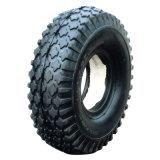 """10""""X4.10/3.50-4 Flat Free PU Foam Filled Rubber Wheel"""