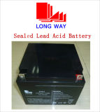 6FM24 High Discharge Lead Acid Battery for Security System
