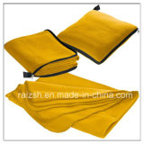 Fleece Blanket Fleece Housed Car Multipurpose Folding Pillow Blanket