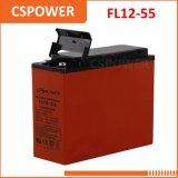 China Factory 12V55ah Power Storage Gel Battery - Slim Power Storage