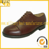 Brown Color Cow Leather Men Office Shoes