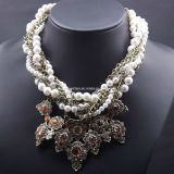Fashion Big Charm Pendant Necklace (XJW13160)
