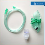 Disposable Oxygen Mask with Nebulizer (L, M, S)